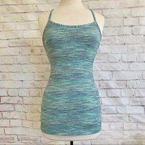Lululemon Marled Stripe Printed Camisole